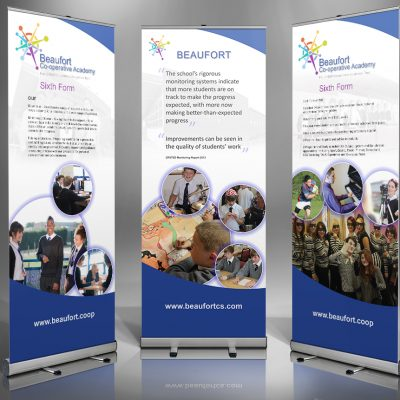 Beaufort Community School Roll-up Banners