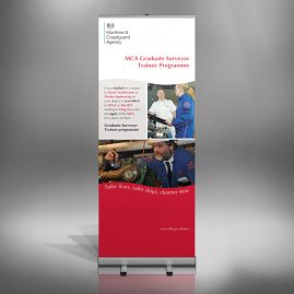 MCA Graduate Recruitment Roll-up Banner