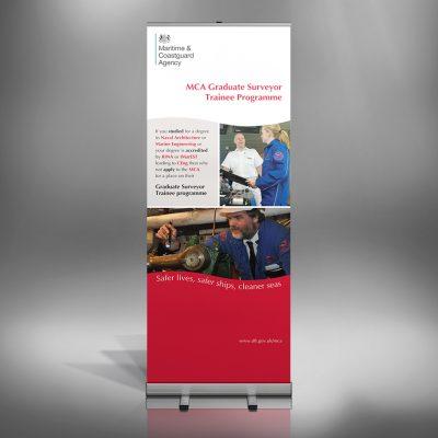 MCA Graduate Recruitment Roll-up Banner