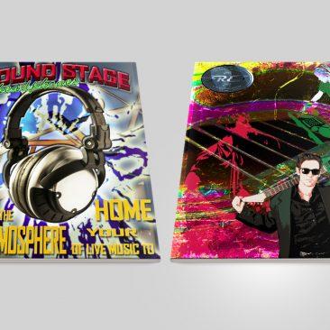 Fret Music Magazine Cover Design