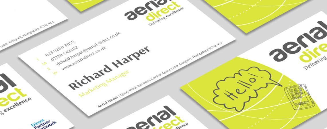 Aerial Direct Business Card